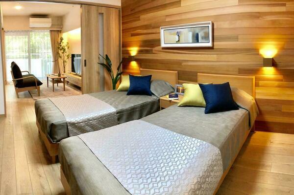 住友林業の研究を生かした寝室
