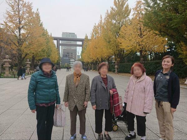 紅葉ツアー(靖国神社)