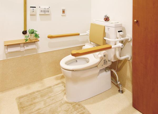 居室内のトイレ